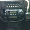 9A5BDD Yaesu FT-857d mobile setup 2