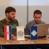 Tomislav 9a3bct i ja spremamo se za prezentaciju